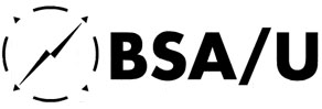 The ring in BSA/U Logo represents the coming together of Customers, Overseas Partners, BPO Providers, and Government linked by a common desire for service excellence. BSA/U, represented by two-way arrow, links entities in two-way relationships.